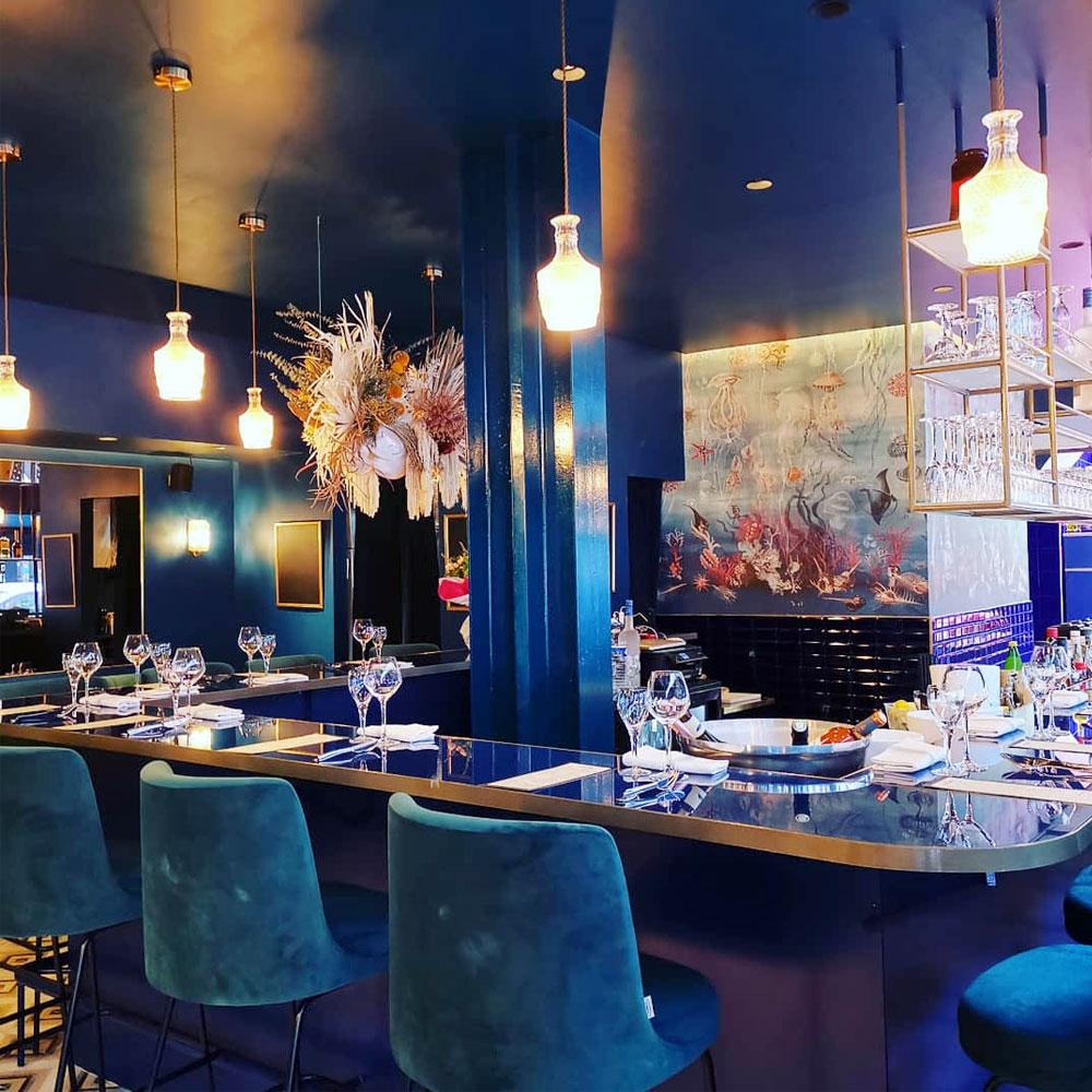 Restaurant de poisson à Paris